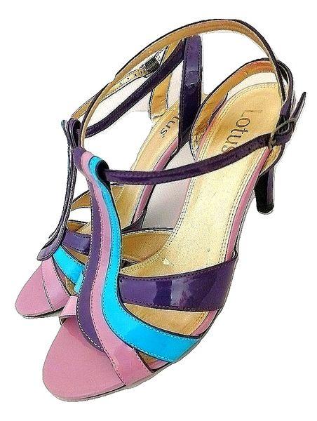 2001 true vintage Northern sole peep toe heels