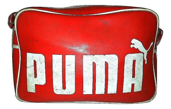 1985 true vintage original puma holdall