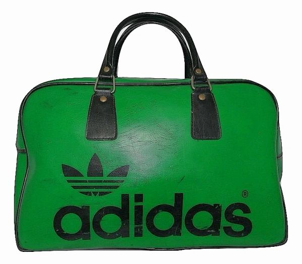 very rare 80's classic vintage adidas holdall bag