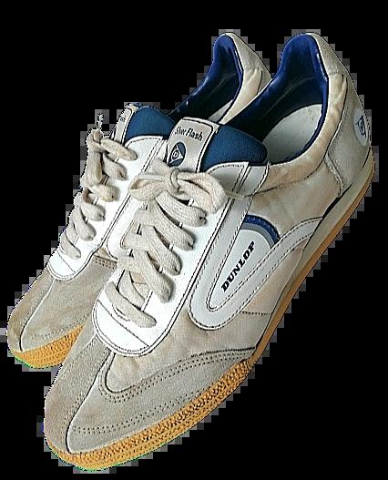 1978 true vintage oldskool Dunlop trainers