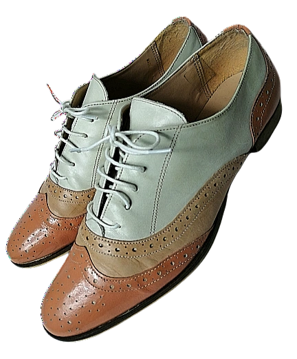 Womens Vintage style brogues Northern soul shoes