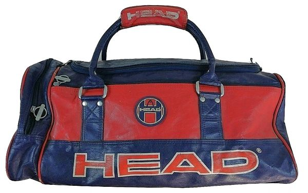 mid 1990's truly vintage head sports holdall bag