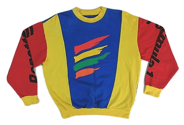 1980's true vintage oldskool Benetton sweatshirt UK L