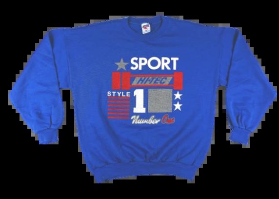 80's true oldskool Hi Tec jumper UK L