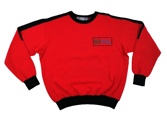 Total deadstock Sergio tacchini sweatshirt UK M