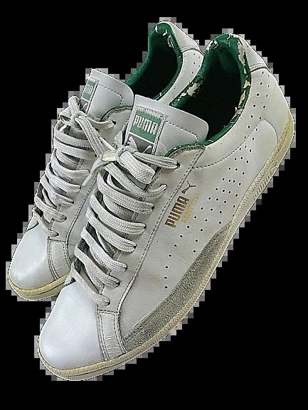 2005 vintage puma sneakers UK 10