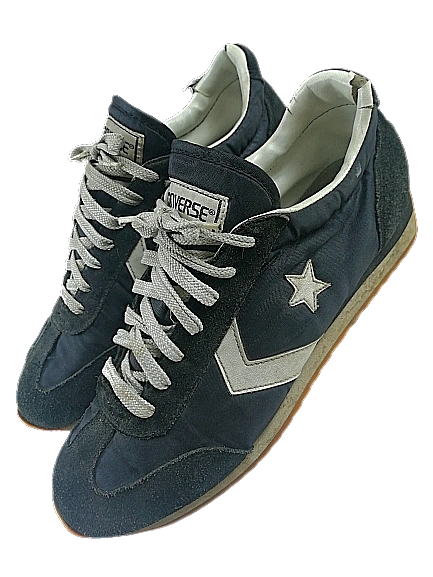 True vintage 1983 Converse trainers UK9