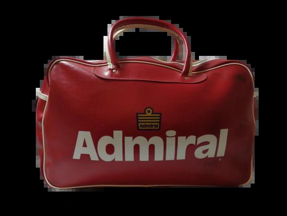 1977 True vintage original Admiral Holdall
