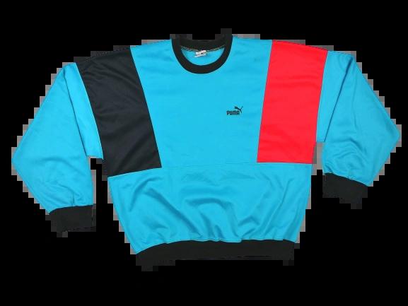 80's original vintage puma sweatshirt UK M-L