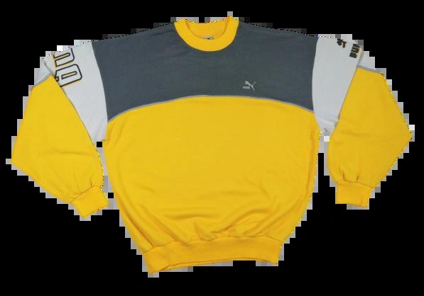 Oldskool vintage 80's puma sweatshirt UK L
