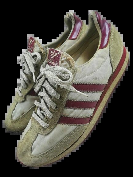 1983 true vintage adidas trainers UK 7
