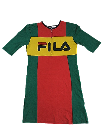 Retro Fila dress UK S