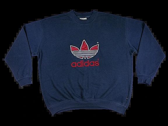 True vintage adidas sweater UK XL-XXL