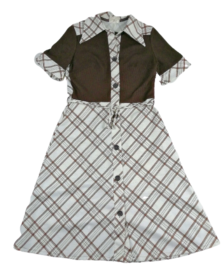 1970's true vintage Northern soul dress