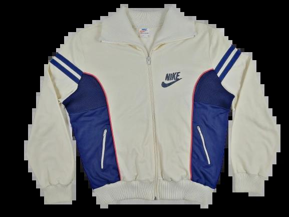 1984 true vintage nike tracksuit top