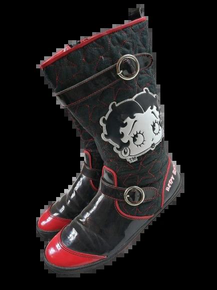 True vintage goth boots