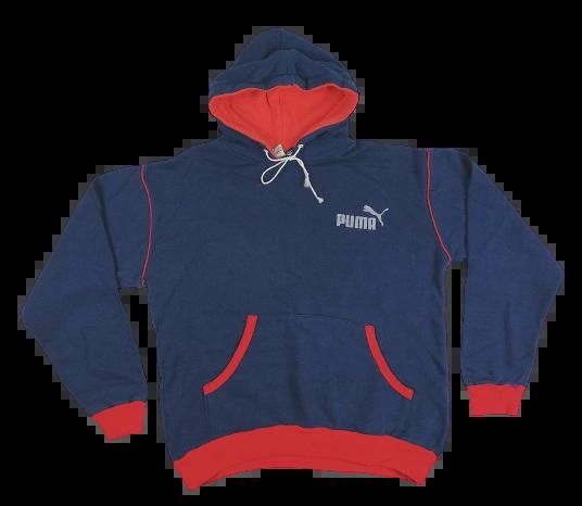 1970's truly oldskool puma hoodie