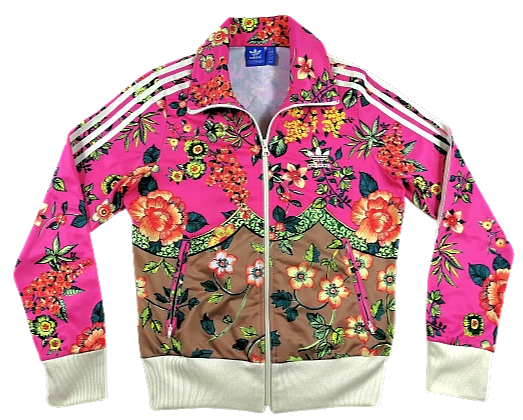 Limited adidas flower tracksuit top
