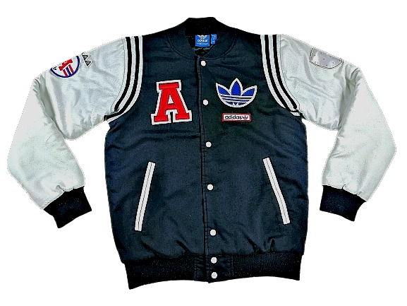 Oldskool adidas originals baseball jacket
