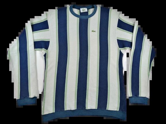 UK L true vintage lacoste sweatshirt 1980's