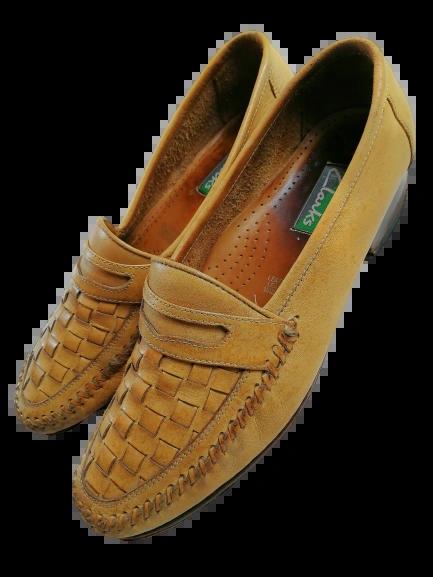 80s mens vintage loafers UK 9