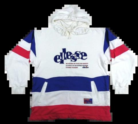80's ellesse hoodie UK M-L