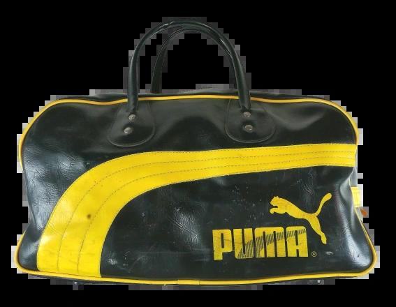 back to the oldskool original vintage 80's puma bag