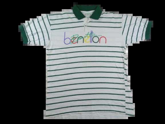 UK M true vintage benetton oldskool t-shirt 1983