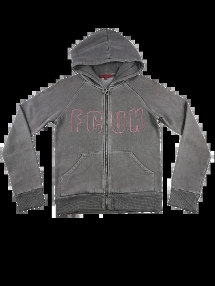SALE Retro hoodie top UK S