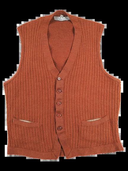 UK S Waistcoat True vintage Northern soul 70's