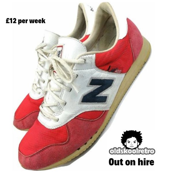 true vintage new balance RC400 mens trainers size uk 9