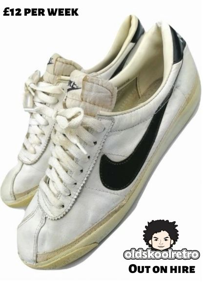 True vintage Nike mens trainers issued 1980 size UK 10