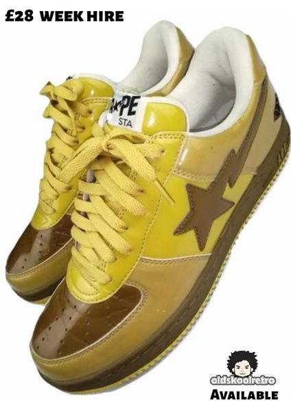 True vintage limited edition bape mens trainers uk 11