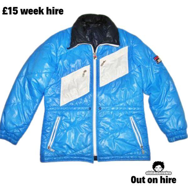 1982 classic true vintage fila puffa jacket size M-L