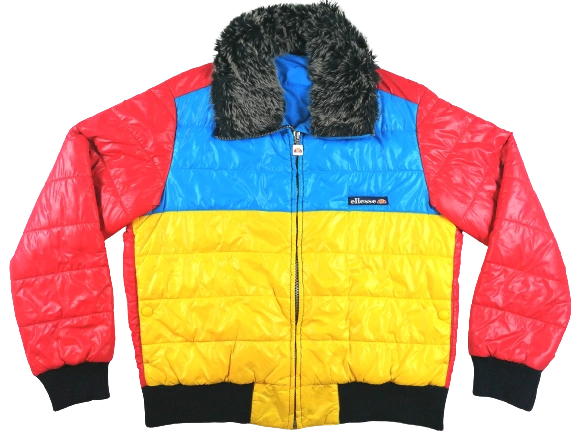 UK M vintage ellesse jacket1996
