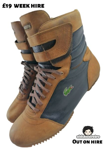 1998 lacoste leather boots 8