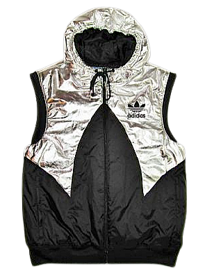 2009 limited edition adidas space gillet size M-L