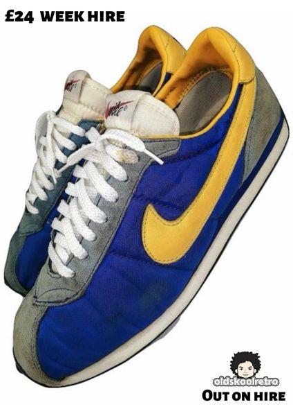 1999 true vintage nike waffle sneakers UK 8