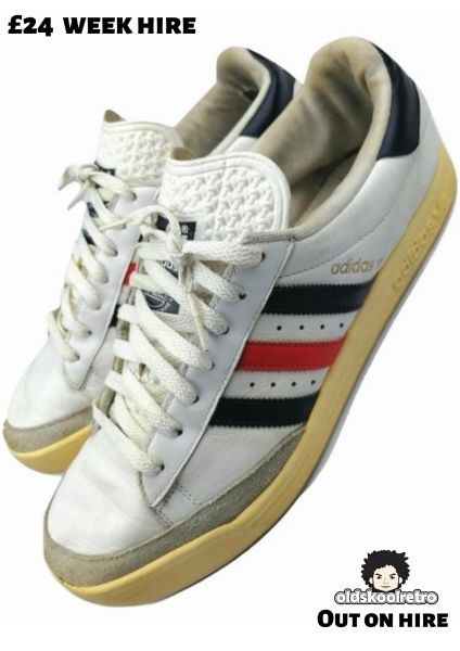 2007 rare vintage adidas davis cup sneakers size UK 11.