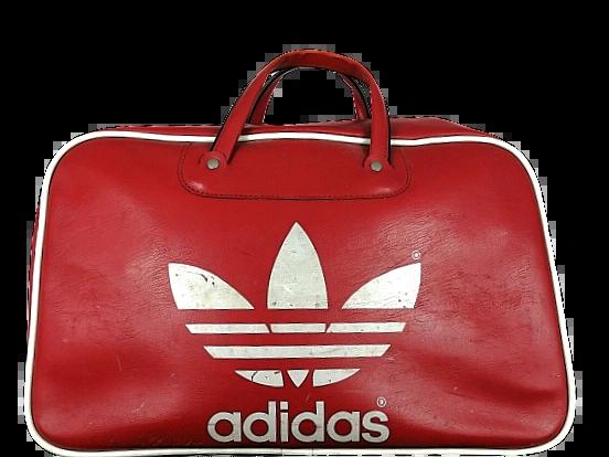 1980's Peter Black adidas holdall bag true vintage