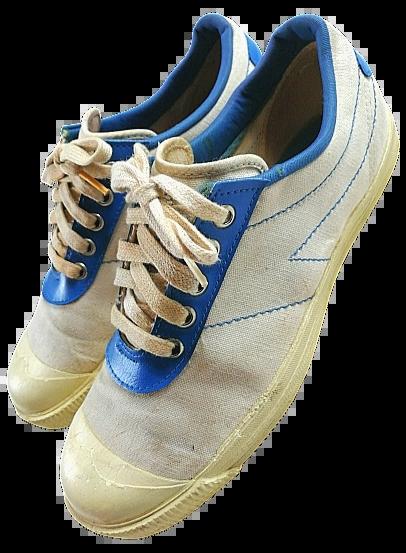 1970's true vintage dunlop sneakers size 6