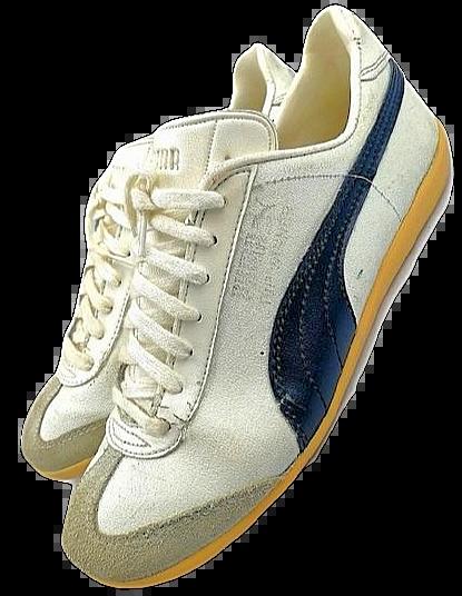 true vintage womens puma top winner issued 1987 sneakers size uk 5.5