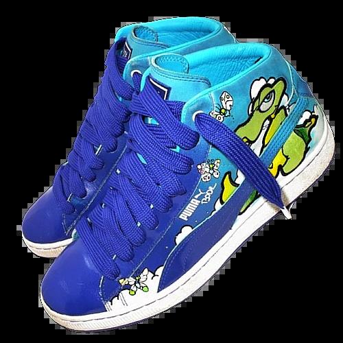 2007 true vintage puma bode sneakers UK 10