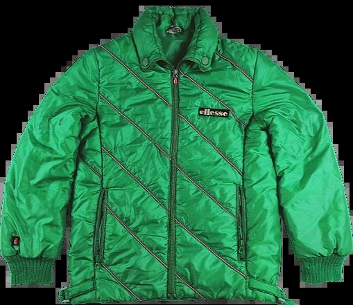 UK M truly oldskool ellesse ski jacket 1983