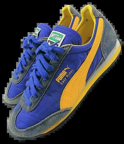 04 blue oldskool puma sneakers UK 6.5