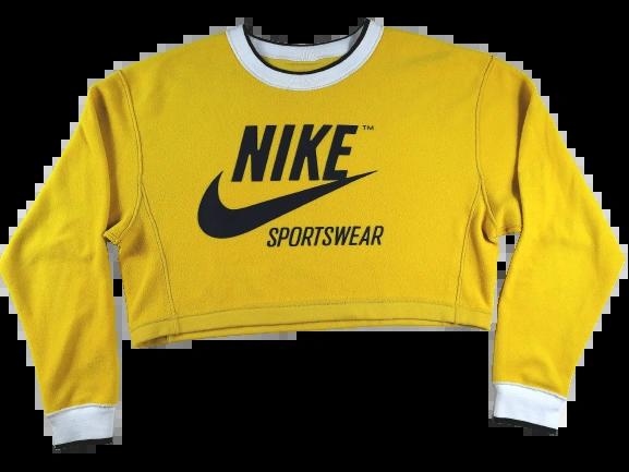 09 oldskool retro Nike crop top UK M