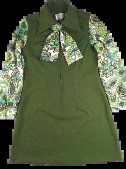 1960's true vintage Northern soul go go dress UK M