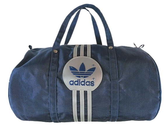 Truly 80's adidas Roger black holdall