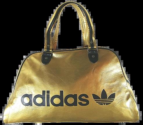 2008 super rare gold adidas holdall