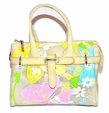 vintage suzy smith thick upvc handbag